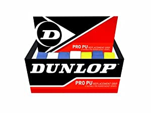Dunlop Sports Pro PU Replacement Grip (Assorted, Pack of 24)