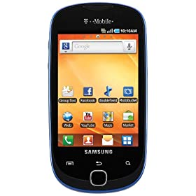 Samsung Gravity Smart Android Phone, Sapphire Blue (T-Mobile)