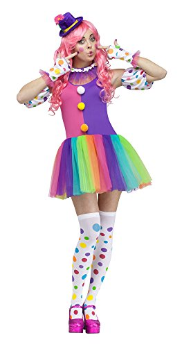 Fun World Costumes Women's Clownin' Around Adult Costume