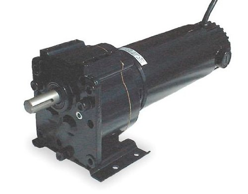 Dayton DC Parallel Shaft TENV Permanent Magnet Gear Motor 350 RPM, 1/4hp 90 Volts DC Model 2H571