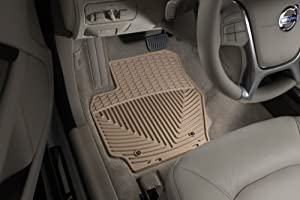 WeatherTech W186TN-W25TN Floor Mat, Rubber, Front/Rear