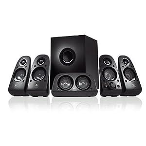 Logitech Surround Sound Speakers Z506 Système de Haut-parleurs 5.1 75 watts Noir