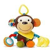 ベビー & キッズ 音が鳴る 人形 仕掛け 知育 遊具 子供 赤ちゃん おもちゃ ぬいぐるみ (モンキー) 玩具 出産祝い プレゼント 揺れる 猿 さる