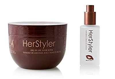 HerStyler Argan Oil Hair Mask + Argan Oil Hair Serum