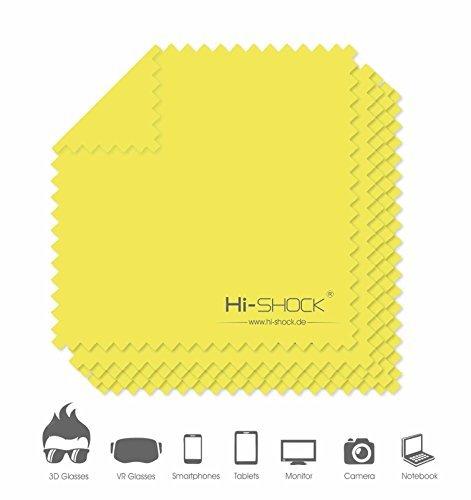 5x-hi-shockr-superfine-fiber-cloths-microfibre-wipe-camera-lens-3d-glasses-cleaner-color-yellow