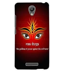 ColourCraft Maa Durga Design Back Case Cover for XIAOMI REDMI NOTE 2