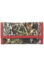 Mossy Oak Red Camouflage Western Wallet for Women