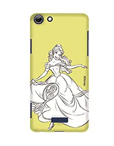 Pick Pattern with Exclusive DISNEY Characters Back Cover for Micromax Canvas Selfie 3 Q348