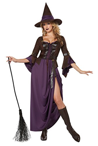 Salem Witch Sexy Long Dress