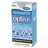 Refresh Optive Lubricant Eye Drops, Box of 2 x 15 ml bottles by ALLERGAN PHARMACEUTICAL