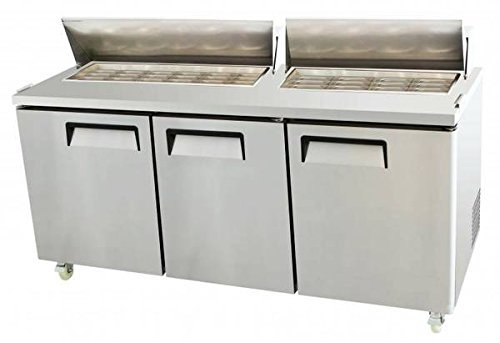 73-3-door-commercial-refrigerated-mega-top-salad-sandwich-prep-station-table-msf-8308-225-cubic-feet