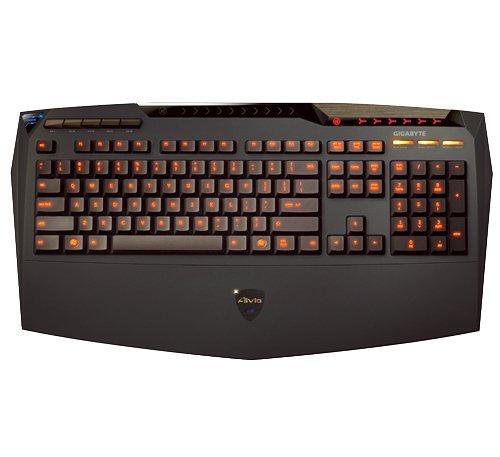 Gigabyte Gk-K8100 Aivia K8100 Back-Lit Gaming Keyboard
