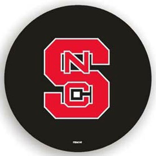 North Carolina State Wolfpack NCAA Spare Tire Cover by Fremont Die (Black) (North Carolina Tire Cover compare prices)