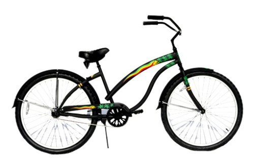 Americas Bike Company Blackout Women's Cruiser Bike