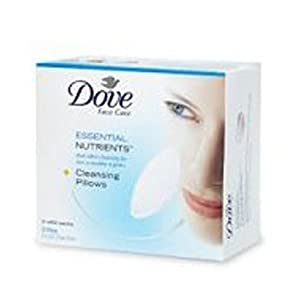 Amazon.com: Dove Essential Nutrients Cleansing Pillows, Refill, 28