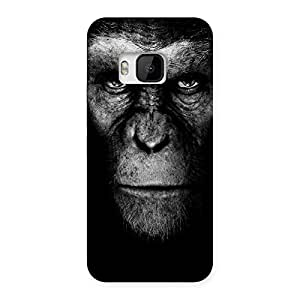Black King Chimp Back Case Cover for HTC One M9
