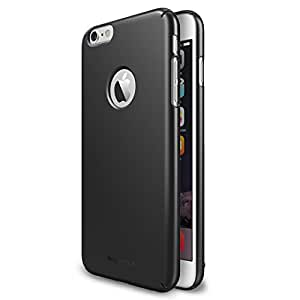 "iPhone 6 Case - Ringke SLIM iPhone 6 Case 4.7 "" [All Around Protection][Logo-Cut Out GUNMETAL] Full Top and Bottom Coverage Premium Dual Coated Hard Case for Apple iPhone 6 4.7 Inch - Eco Package"