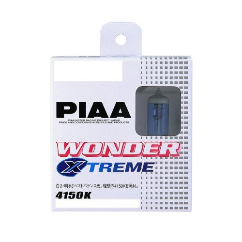 PIAA ( ピア ) ハロゲンバルブ 【ワンダーエクストリーム 4150K】 HB 12V55W 2個入り H-675