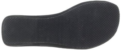 Skechers Women's Key Holes-Peek Wedge Sandal,Light Gray,7 M US
