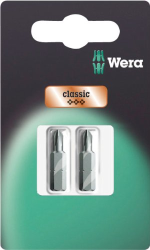 Wera Series 1 851/1 RZ SB Special Design Bit, Phillips Drywall 2