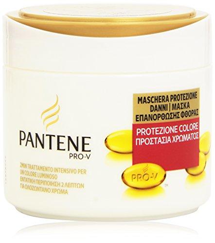 Pantene Protezione Colore Maschera per Capelli Colorati, 300 ml