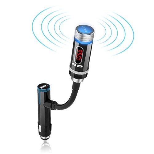 <p><b>Transmisor inalámbrico Bluetooth FM</b>:  <br>Haga su última teléfonos inteligentes, tabletas y reproductor de MP3</p>