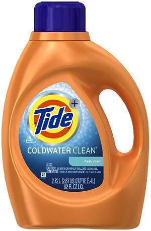 Tide Coldwater Clean Fresh Scent Liquid Laundry Detergent, 92 oz