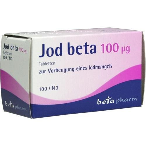 JOD BETA 100UG 100St Tabletten PZN:4111334