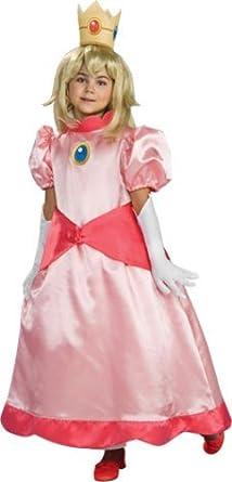 Super Mario Brothers Child's Deluxe Costume, Princess Peach Costume