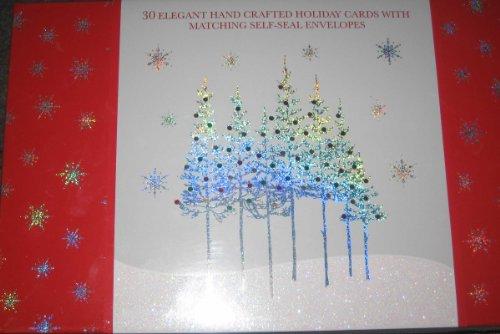 30 elegant handmade christmas cards ephemera for Elegant homemade christmas cards