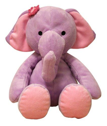 Bedtime Originals Plush Elephant Rosie, Purple
