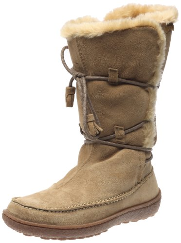 Camper Women's Industrial Bou Boot 45557 Beige 3 UK
