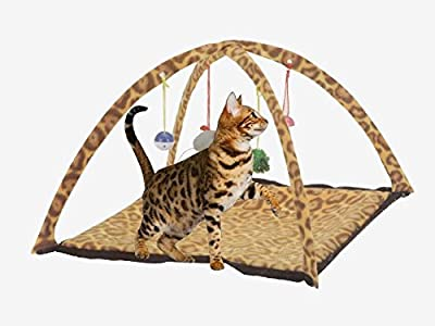 Butterfly Pet Cat Dog Play Activity Fun Playing Toy Bed Pad Blanket Mat House Bells Tent Soft Stuffed