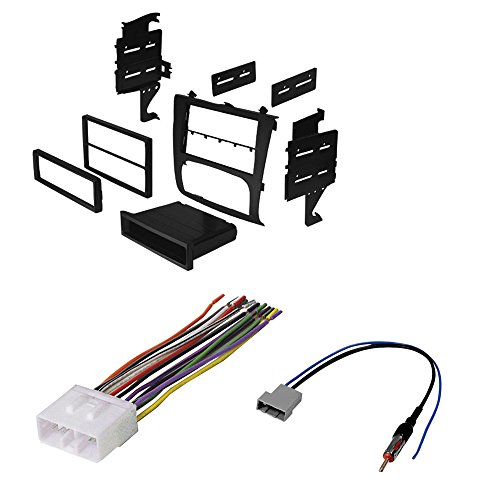 NISSAN ALTIMA SELECT YEARS CAR STEREO RADIO CD PLAYER RECEIVER INSTALL MOUNTING KIT WIRE HARNESS RADIO ANTENNA ADAPTER (Nissan Altima Year compare prices)