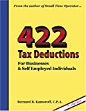 img - for 422 Tax Deductions for Businesses and Self Employed Individuals (475 Tax Deductions for Businesses & Self-Employed Individuals) book / textbook / text book