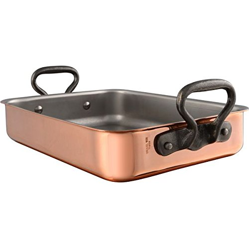 Mauviel M'Heritage Tri-Ply Copper Roaster with Rack