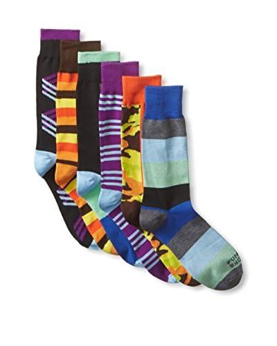 Funky Socks Men's Assorted Casual - 6 Pack Socks