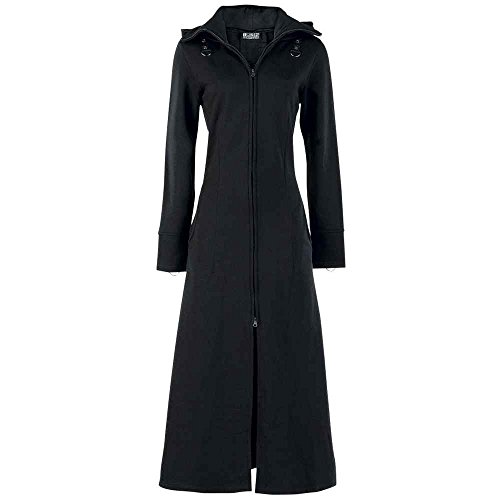Poizen Industries -  Cappotto  - Donna nero 52/54