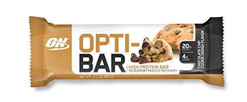 Optimum Nutrition Opti-Bar Protein Bar, Chocolate Chip Cookie Dough, 12 Count (Come Ready Protein Bars compare prices)