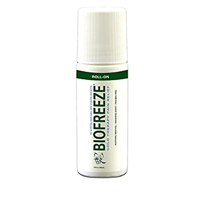 Biofreeze Pain Relieving Roll On, Save Big, 3-Ounce Package (Pack of 6)