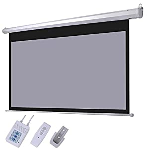 Chimaera 100 inch 16 9 motorized projection for 100 inch motorized projector screen