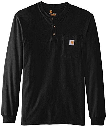 Carhartt Men 39 S Workwear Pocket Long Sleeve Henley T Shirt