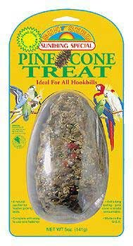 Cheap Top Quality Large Hookbill Pine Cone Treat 5oz (card) (TDPS9328)