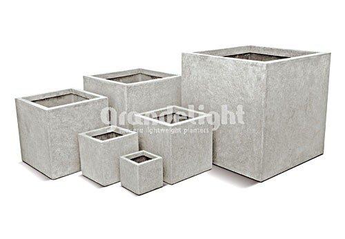Besten Grandelight Pflanzkübel Quadratisch 40 x 40 x 40 cm lichtgrau ...