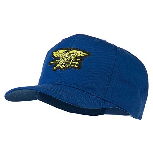 Us Navy Seals Symbol Patched Cap - Royal Osfm