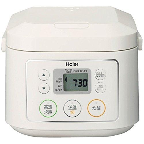 ハイアール マイコンジャー炊飯器(3合炊き) ホワイトHaier JJ-M30C-W