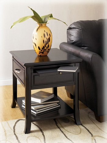 Rectangular End Table by Famous Brand Furniture