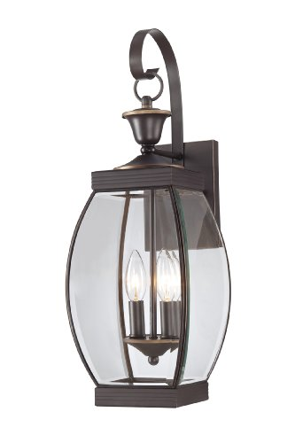 Quoizel OAS8408Z Oasis 21-Inch H. 2 Light Outdoor Wall Lantern (Quoizel Oasis compare prices)