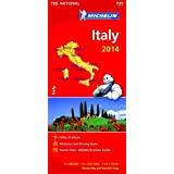 Italy 2014 National Map 735 (Michelin National Maps)