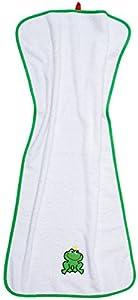 Smithy Moda 1403036 - Toalla, razón: rana, 50 x 100 cm, color: Blanco